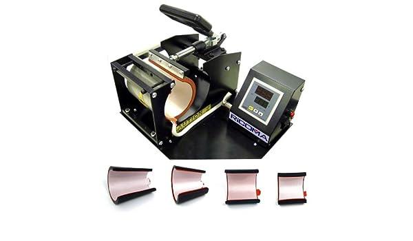 Ricoma 4-in-1 Mug Cup Heat Press Transfer Machine