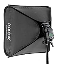 Godox 60x60cm Softbox Bag Kit for Camera Studio Flash fit Bowens Elinchrom Mount