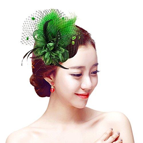Aniwon Fascigirl Fascinator Hair Clip Brooch Pin Wedding