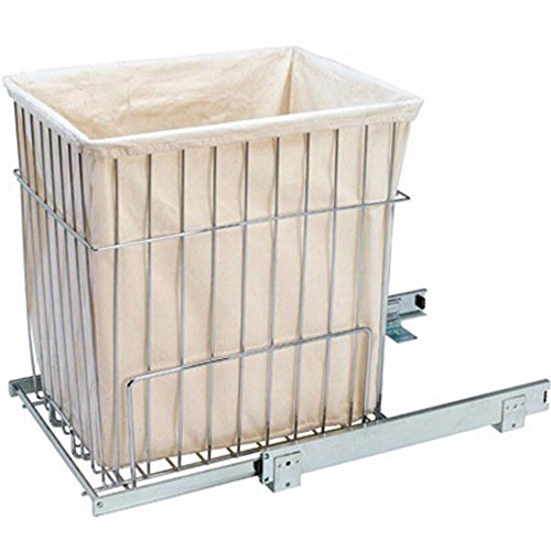 - Rev-A-Shelf Pullout Wire Hampers, White