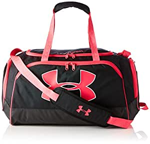 Under Armour - Watch Me Duffel Bag Black/Pink