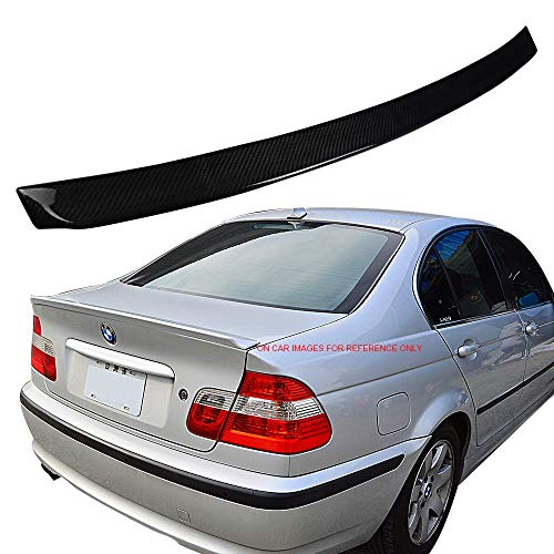 Trunk Spoiler Fits 1999-2005 BMW 3 Series E46 4Dr | Ikon Style Carbon Fiber (CF) Rear Trunk Wing Deck Lid by IKONMOTORSPORTS