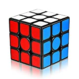 Speed Cube 3x3x3 with New Anti-pop Structure Smooth Puzzle Cube for Professional Players(sticker)