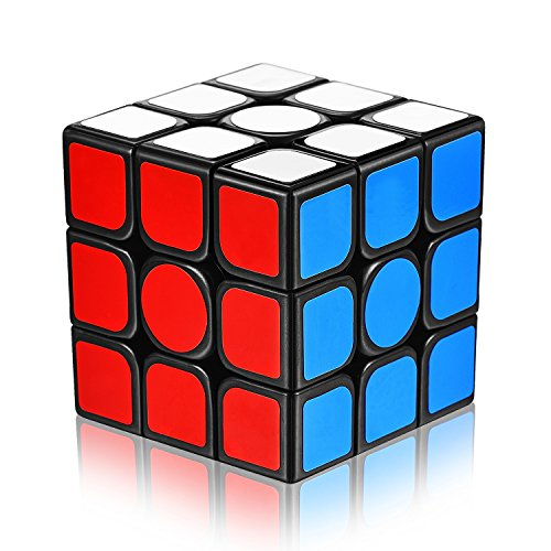 Price comparison product image Speed Cube 3x3x3 with New Anti-pop Structure Smooth Magic Cube(sticker)