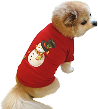 Amazon.com: Ropa de mascota para Navidad, cachorro, perro ...