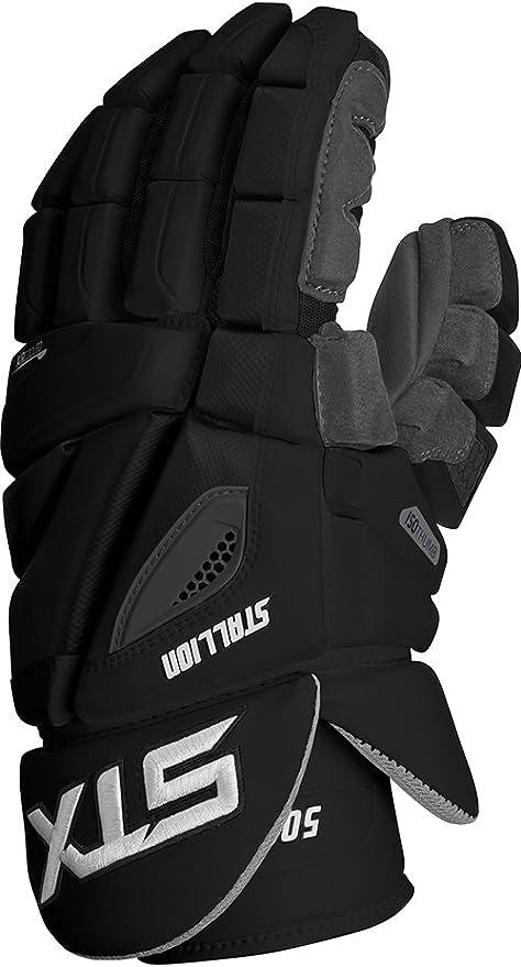 Grey Size 12 GE ST5F 02 GY//XX STX Lacrosse Stallion 500 Gloves