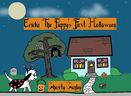 Ericka The Puppy's First Halloween