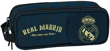 Real Madrid CF 811934513 Estuche, Niños Unisex, Negro: Amazon.es: Juguetes y juegos