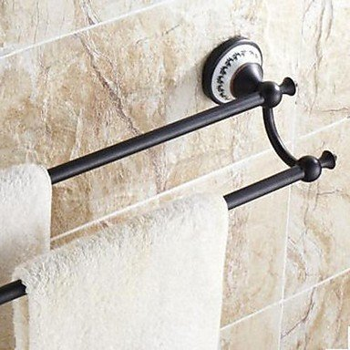 Ling@ Oil Rubbed Bronze Double Towel Bar by Towel Bars Ling