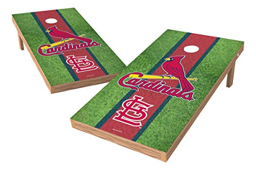 Mlb Tailgate Toss Game - MLB St. Louis Cardinals Field XL Shield Tailgate Toss Game, 24