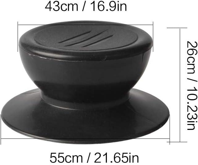 Quesuc Paquete de 4 perillas para tapa de olla perillas de repuesto para tapa de utensilios de cocina universales