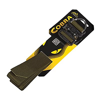 Helikon Men's Cobra D-Ring (FX45) Tactical Belt Black
