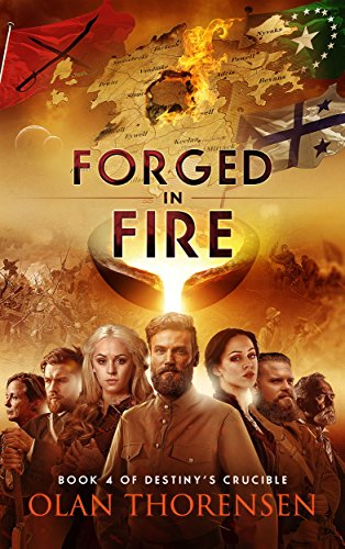 Forged in Fire (Destiny's Crucible Book 4) cover