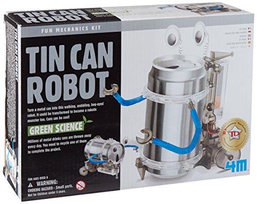 Toysmith 4M Tin Can Robot Kit Each ()