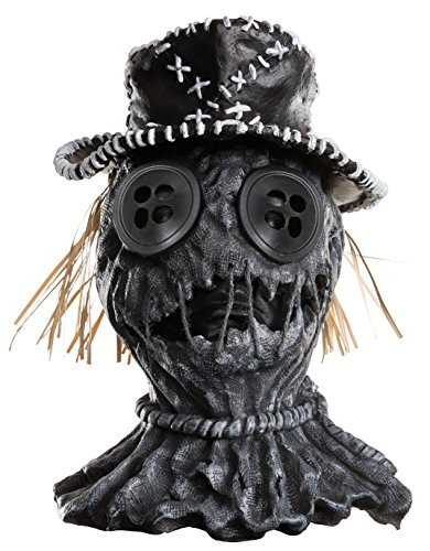Rubie's Men's Dj Ashba Scar-Crow Deluxe Overhead Mask, As Shown, One ()