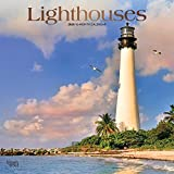 Books : Lighthouses 2020 12 x 12 Inch Monthly Square Wall Calendar with Foil Stamped Cover, Ocean Sea Coast