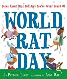 World Rat Day, J. Patrick Lewis, 0763654027