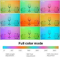 CRI96+ TCLI98+ W//Ulanzi ST-06 Hot Shoe Phone Mount Iwata GL-03 Full Color RGB Led Light 3000-5500K Adjustable OLED Display 0-100/% Stepless Dimming 7 Scene Mode /& 21 Light Effects