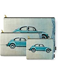 Society6 Water Landing VW Beetle Carry-All Pouch
