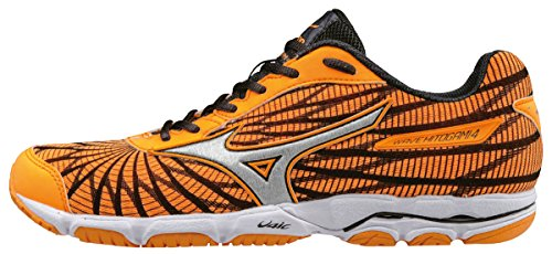 Mizuno Wave Hitogami 4 (W), Zapatillas de Running para Mujer Morado (Orange Pop/silver/dark Shadow)