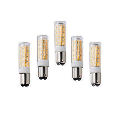 SCSY-Bombillas 5W LED BA15D Base LED Luz de Bombilla LED 50W Bombilla incandescente Equivalente