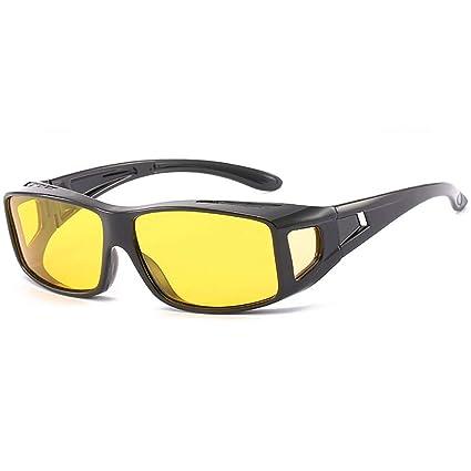 Amazon.com: Gafas polarizadas de visión nocturna con lentes ...