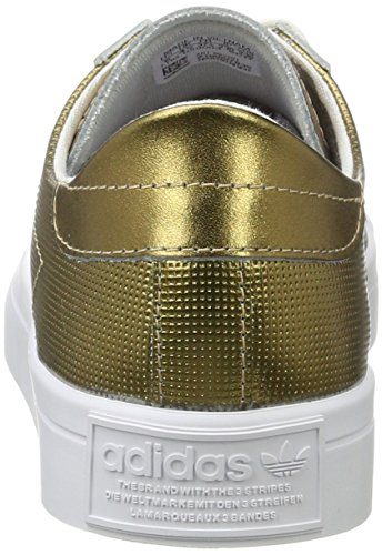 Zapatillas White Metallic Copper Footwear Metallic para Courtvantage Mujer Dorado Adidas Copper 7RZqFB