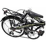 "Stowabike 20"" Pro Alloy Folding Compact City Road Bike 6 Speed Shimano Bicycle"