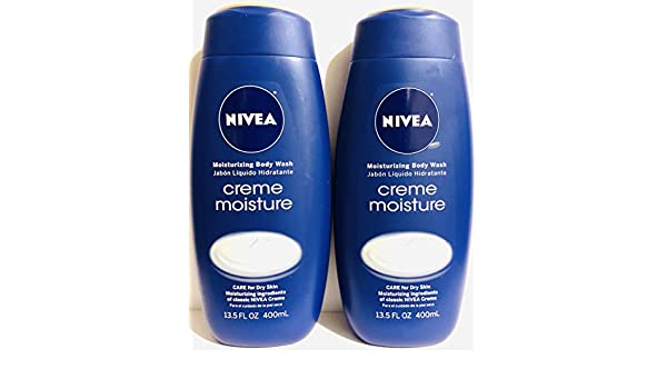 Amazon.com : Nivea Moisturizing Body Wash - Creme Moisture - Net Wt. 13.5 FL OZ (400 mL) Per Bottle - Pack of 2 Bottles : Beauty