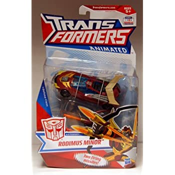 Transformers Exclusive Animated Deluxe Figure Rodimus Minor