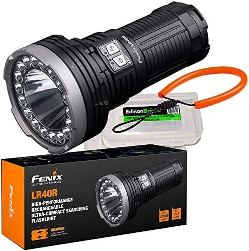 Rechargeable Flashlight lanyard EdisonBright battery product image