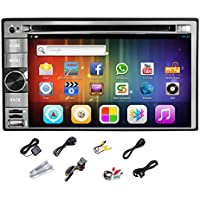 Pupug Android 4.2 Car GPS Radio Video CD MP3 DVD Player Stereo 2 DIN Capacitive WiFi Dual CPU