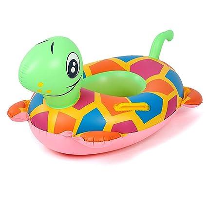 Joyibay Anillo De Baño para Niños Caricatura Inflable Tortuga Anillo Flotador De Natación para Piscina De