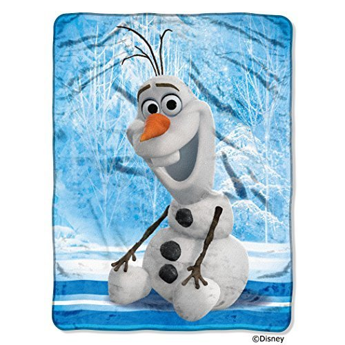 "Disney Frozen Super Plush Throw 46"" x 60"""