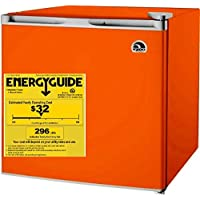 1.6 Cubic Foot, Compressor Cooling Refrigerator, (Orange)