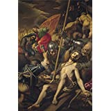 The Perfect Effect Canvas Of Oil Painting  Campi Vincenzo Crucifixion 1577   ,size: 24 X 36 Inch / 61 X 91 Cm...