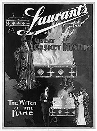 Laurant Magic Poster Great Casket Mystery NEW