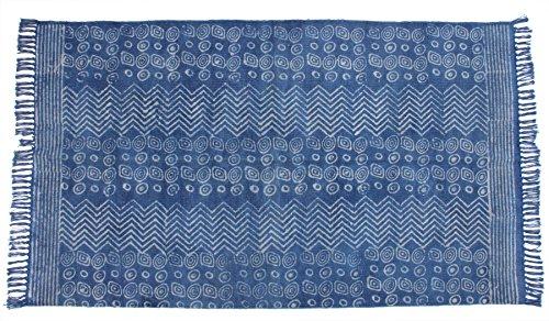 Jaipur Handloom Indian Area Rug Handmade Rag Rug, Carpet Runner, Large Multicolor Colorful Indian Dhurrie, Floor Mat Bohemian Boho Decorative Accent Weave Rag Rug (4 X 6 ft (120 X 180 cm), Multi_07)