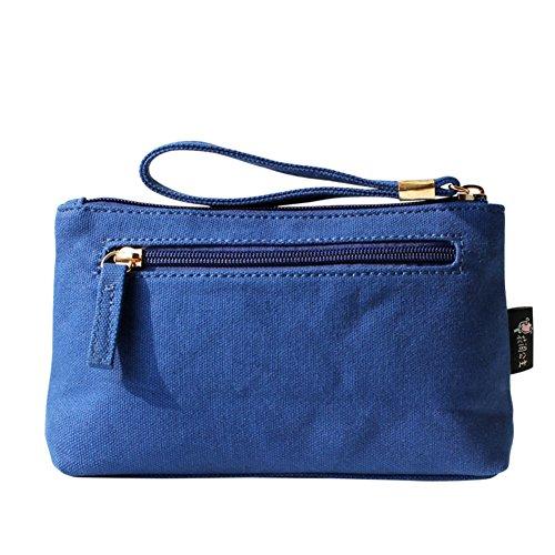 La signora tendenza ricamo della borsa di tela casuale/frizione di modo