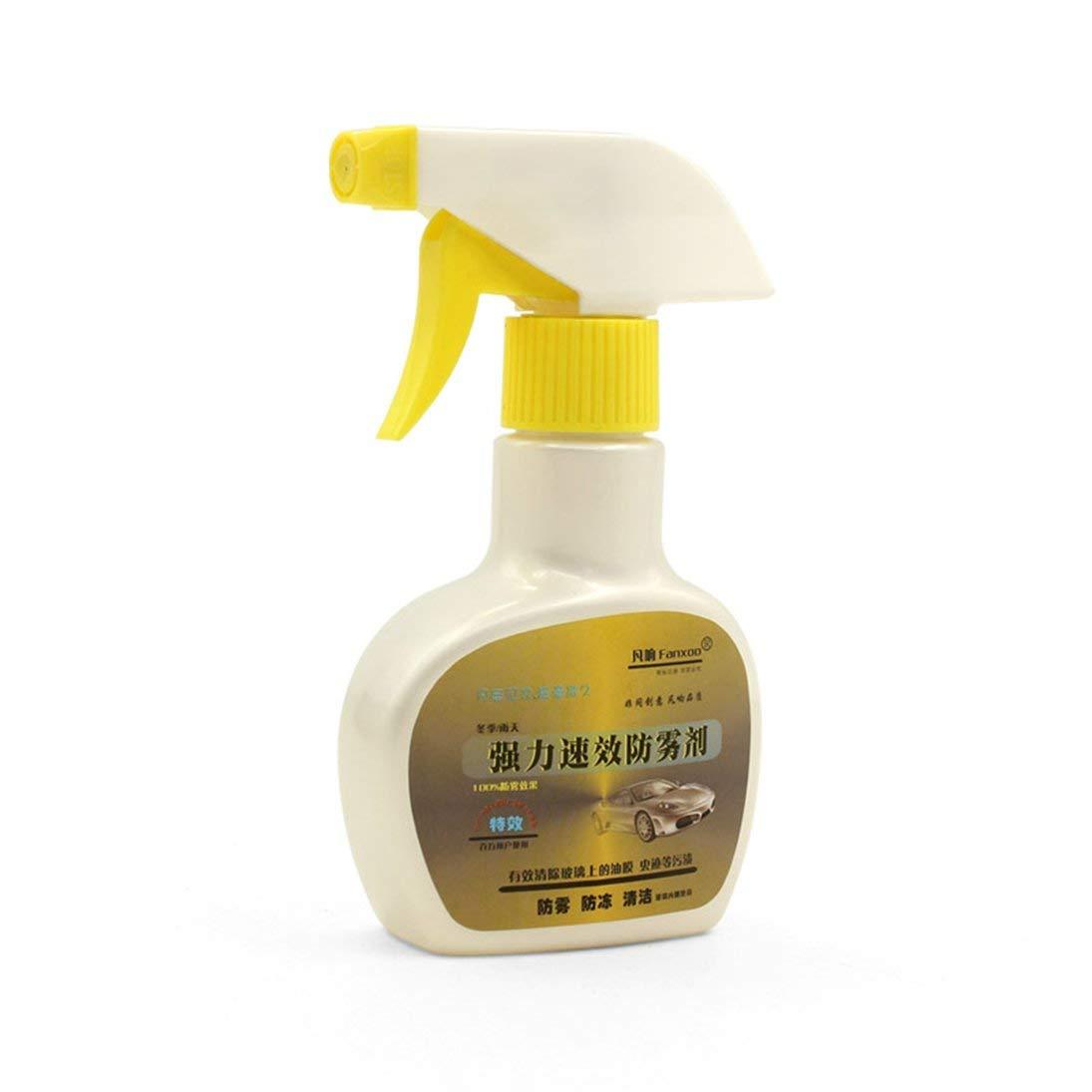 ToGames-IT Vetro Anteriore Auto 150ml Vetro Anti-Nebbia Spray Parabrezza a Lunga Durata Liquido Anti-Appannamento per Automobile Portatile Cura del Parabrezza