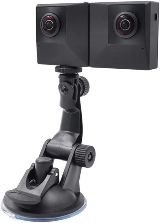 Color : Black Minyangjie Camera Accessories 360 Degree Auto Rotation Camera Mount for GoPro Black