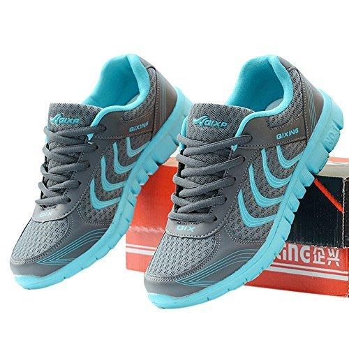 Fashion Brand Best Show Women's Mesh Breathable Light Weight Running Shoes (8.5 B(M) US, Dark Gray)