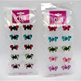 Metal Hair Clips W/Crystals 48 pcs sku# 893856MA