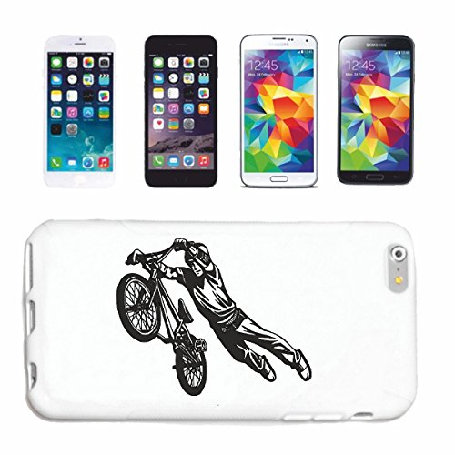 caja del teléfono iPhone 7+ Plus BMX Freestyle Motocross BICICLETA CALLE BICICLETA FREESTYLE Chopper MOUNTAINBIKE Caso duro de la cubierta Teléfono Cubiertas cubierta para el Apple iPhone en blanco