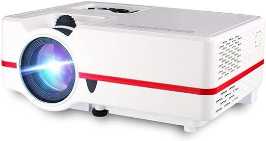 FSMJY Proyector, Mini Videoproyector Casero Micro LED Portátil ...