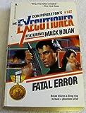 Fatal Error, Don Pendleton, 0373611420