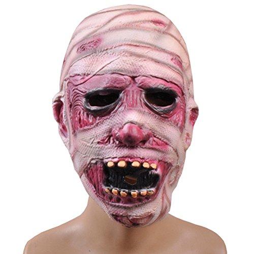 Elegant libra Mummy Face Mask Scream Mask Classics Mummy Mask for Halloween - Mtv Scream Costumes For Kids