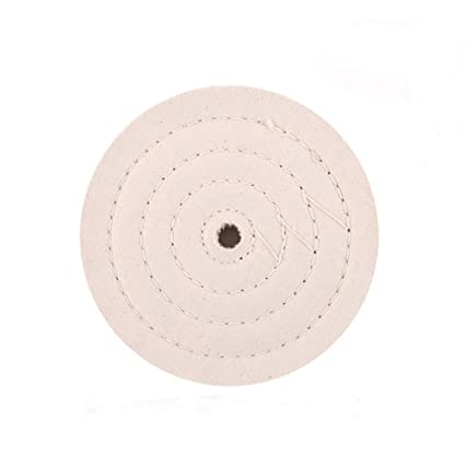Wondrous Scottchen Cotton Buffing Wheel 6 Inch Extra Thick Spiral Sewn Polishing Pad For Bench Grinder Tool With 1 2 Arbor Hole 70 Ply 1 Pack Ocoug Best Dining Table And Chair Ideas Images Ocougorg