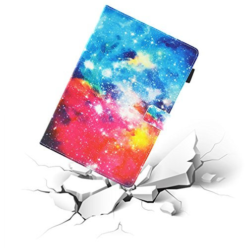 Smart Auto for Foldable 2016 Pattern of Diamonds Leather Ultra Wake 0 Kindle 2017 Slot Cover Bookstyle Inch Card Amazon Magnetic Thin HD8 with Fire Case Case Closure Colorful Color 10 8 LMFULM® PU Sleep wTq5CFR