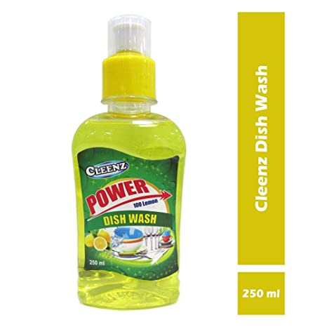 Cleenz Dishwashing Liquid Soap for Kitchen, 250 ml